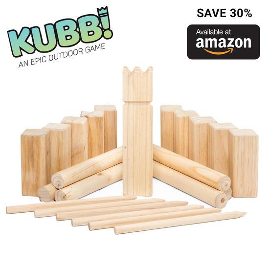 Play Platoon Kubb Set